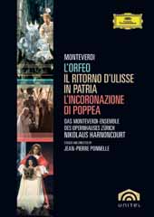 Nikolaus Harnoncourt / Monteverdi Opera Boxed Set [5 DVD Box Set]