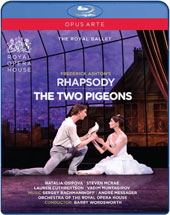 Frederick Ashton's The Two Pigeons (music by André Messager); Rhapsody (music by Rachmaninov) / Natalia Osipova, Steven Mcrae, Lauren Cuthbertson, Vadim Muntagirov. ROH Orchestra, Wordsworth [Blu-ray]