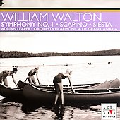 Walton: Scapino, Siesta, Symphony no 1 / Adrian Leaper