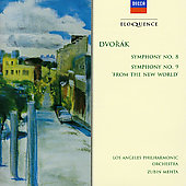 Dvorak: Symphonies Nos. 8 & 9 'New World' / Zubin Mehta, Los Angeles PO