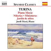 Spanish Classics - Turina: Piano Music Vol 4 / Jordi Masó