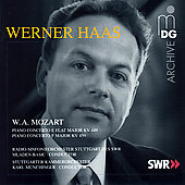 Mozart: Piano Concertos / Haas, Munchinger, et al