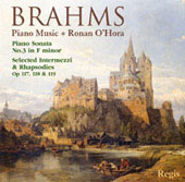 Brahms: Piano Music / Ronan O'Hora