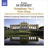 Schmidt: Symphony no 1, etc / Sinaisky, Malm&ouml; SO, et al
