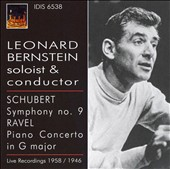 Leonard Bernstein: Soloist & Conductor