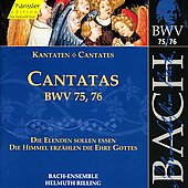 Bach: Cantatas, BWV 75, 76