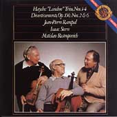 Haydn: London Trios, etc / Rampal, Stern, Rostropovich
