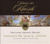 Wolfgang Amadeus Mozart: Sinfonien Nr. 39, 40, 41 