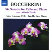 Boccherini: 6 Sonatas for Cello & Piano
