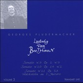 Ludwig van Beethoven, Vol. 3: Sonate No. 3; Sonate No. 10; Sonate No. 21
