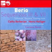 Berio: Sequenzas III & VII / Juilliard Ensemble, Holliger