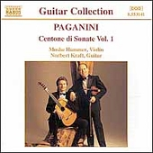 Paganini: Centone di Sonate Vol 1 / Hammer, Kraft