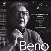 Berio: The Great Works for Voice / Christine Schadeberg