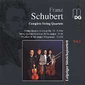 Schubert: Complete String Quartets Vol 2 / Leipzig Quartet