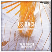 J.S Bach: Goldberg Variations / Takae Ohnishi, piano