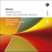 Mahler: Symphony No. 1; Songs of a Wayfarer / Hakan Hagegard. Kurt Masur, New York PO