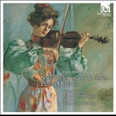 Weber: Violin Sonatas Op. 10/1-6; Piano Quartet Op. 8 / Isabelle Faust, violin; Alexander Melnikov, fortepiano