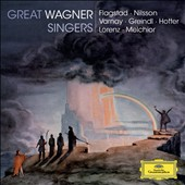 Great Wagner Singers / Kirsten Flagstad, Birgit Nilsson, Astrid Varnay, Josef Greindl, Hans Hotter, Siegfried Lorenz, Lauritz Melchior [6 CDs]