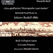 Ahle: Selected Vocal Music / Suzuki, Bach Collegium Japan