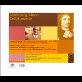 Schoenberg: Chamber Symphony no 1; Cello Concerto; Monn: Cello Concerto / Hans-Christian Schwarz, cello