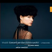 Vivaldi: Concertos for 2 violins & strings, Vol. 1 / Riccardo Minasi, Dmitry Sinkovsky, violins