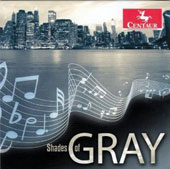 Shades of Gray - music for clarinet & piano by Gershwin, Carlson, Cunliffe, Strayhorn, Jobim et al. / Gary Gray, clarinet; Bill Cunliffe, piano