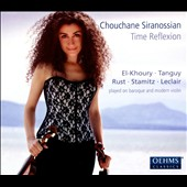 Time Reflexion - works for 1 and 2 violins by El-Khoury, Leclair, Stamitz, Tanguy, Narekatsi / Chouchane Siranossian, Rudiger Lotter, violins; Levon Chatikyan, duduk