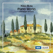 Nino Rota (1911-1979): Piano Works / Christian Seibert, piano