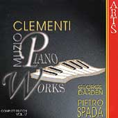 Clementi: Piano Works Vol 17 / Pietro Spada, George Darden