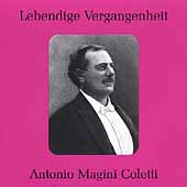 Lebendige Vergangenheit - Antonio Magnini Coletti