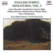 English String Miniatures Vol 3 / Lloyd-Jones, Royal Ballet
