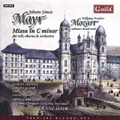 Mayr: Mass in C Minor;  Mozart: Choral Works / Hauk, Ulewicz