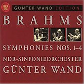 Red Seal - Günter Wand Edition - Brahms: Symphonies no 1-4