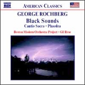 American Classics - Rochberg: Black Sounds, etc / Gil Rose