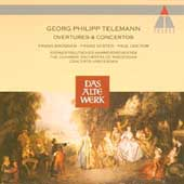 Telemann: Overtures & Concerti / Br&uuml;ggen, Vester, Doctor