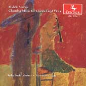 Middle Voices - Chamber Music for Clarinet and Viola