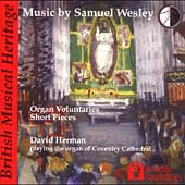 Wesley: Organ Voluntaries, Short Pieces / David Herman
