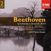 Gemini - Beethoven: Symphonies no 6, 8 & 9 / Giulini
