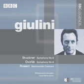 Giulini - Bruckner, Dvor&aacute;k, Rossini / Philharmonia