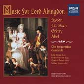 Music for Lord Abingdon / The Hanoverian Ensemble