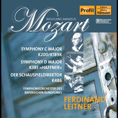 Mozart: Symphonies / Leitner, et al