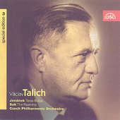 Vaclav Talich Special Edition Vol 3 - Suk, Jan&#225;cek