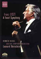 Liszt: A Faust Symphony / Bernstein/Boston SO, Tanglewood Festival Chorus, Kenneth Riegel [DVD]