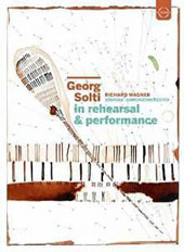 Georg Solti in Rehearsal & Performances - Wagner: Tannhauser, overture / Solti, Sudfunk Sinfonieorchester [DVD]