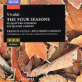 Vivaldi: The Four Seasons, etc / Riccardo Chailly