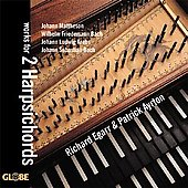 Works for 2 Harpsichords - Mattheson, et al / Egarr, Ayrton