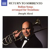 Return to Sorrento - Italian Songs arranged for Trombone
