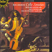 Boccherini: Cello Sonatas / Lester, Watkin, Nwanoku