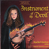 Instrument of the Devil / Rachel Barton, Patrick Sinozich