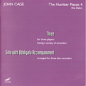 John Cage Edition Vol 38 - The Number Pieces Vol 4